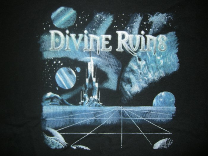 DIVINE RUINS SHIRT Start the Revolution metal XL NEW