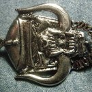 MOTORHEAD METAL PIN warpig snaggletooth badge IMPORT