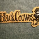 THE BLACK CROWES iron-on PATCH crow logo VINTAGE