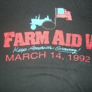 FARM AID 5 SHIRT willie nelson neil young john melloncamp arc angels L 1992