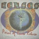 KANSAS SHIRT 1999 Tour Point of Know Return stage plot XL