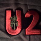 U2 iron-on PATCH joshua tree logo bono U-2 VINTAGE