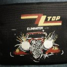 ZZ TOP FABRIC WALLET Eliminator car velcro zztop VINTAGE