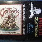OBITUARY ROC-TATTOOS Cause of Death skulls VINTAGE