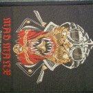 MAD MANE sew-on PATCH alchemy gothic import VINTAGE