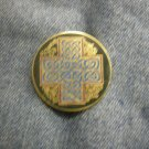 CELTIC TACK PIN celtic cross button NEW