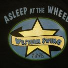 ASLEEP AT THE WHEEL SHIRT Western Swing Since 1970 XL