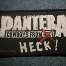 PANTERA sew-on PATCH Cowboys From Heck IMPORT