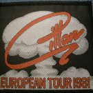 IAN GILLAN sew-on PATCH European Tour 1981 deep purple VINTAGE