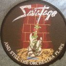 SAVATAGE sew-on PATCH Gutter Ballet guitar jon oliva AUTOGRAPHED