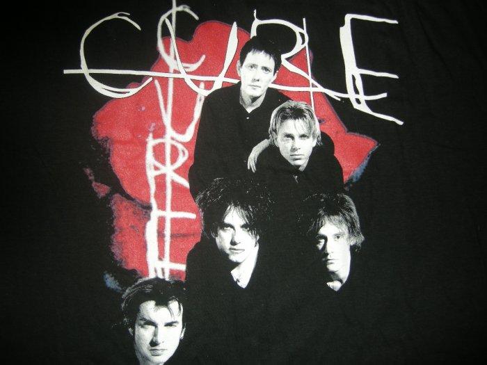 THE CURE SHIRT The Dream Tour v-neck XL NEW