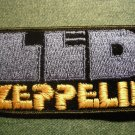 LED ZEPPELIN iron-on PATCH blue/yellow fat logo VINTAGE JUMBO
