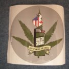 CHEECH AND CHONG STICKER Light Up America & Canada OFFICIAL TOUR