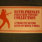ELVIS PRESLEY stamps first day cover set album VINTAGE