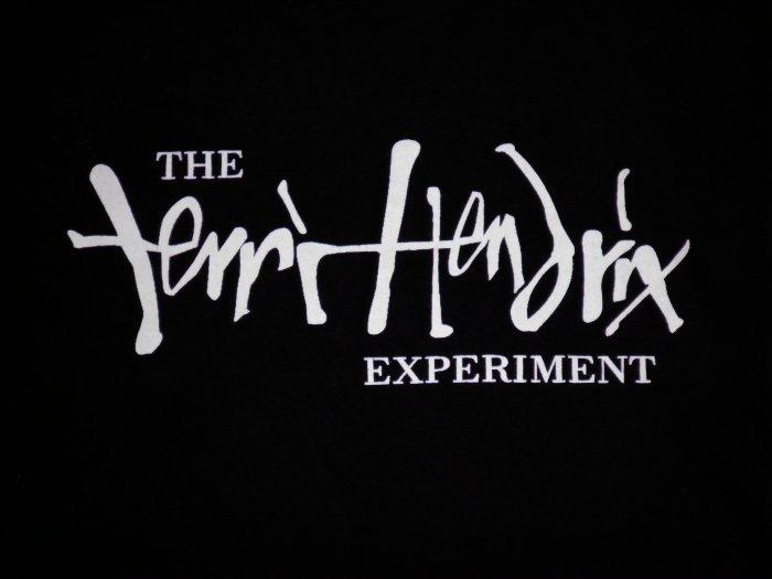 TERRI HENDRIX SHIRT Experiment black texas XL