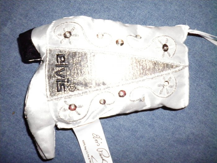 ELVIS PRESLEY ORNAMENT white boot christmas holiday NEW