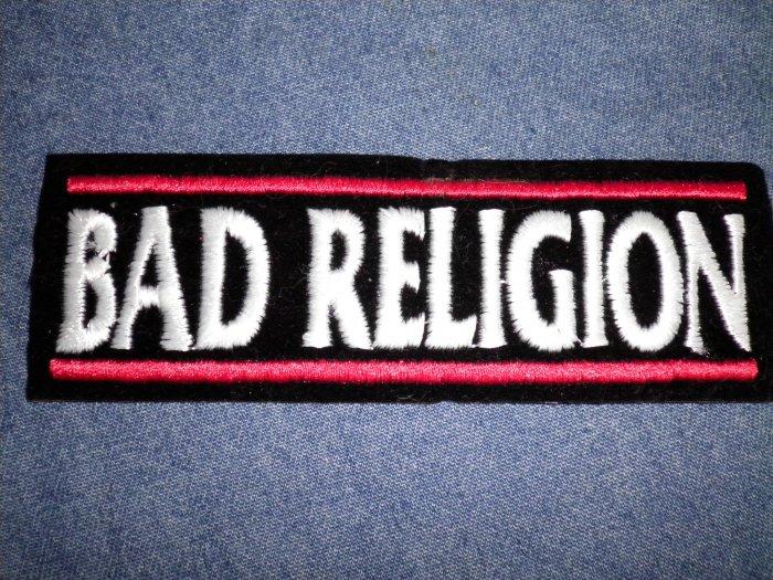 BAD RELIGION iron-on PATCH logo punk VINTAGE 90s