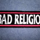 BAD RELIGION iron-on PATCH logo punk VINTAGE 90s