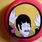 THE BEATLES PINBACK BUTTON Yellow Submarine john lennon NEW