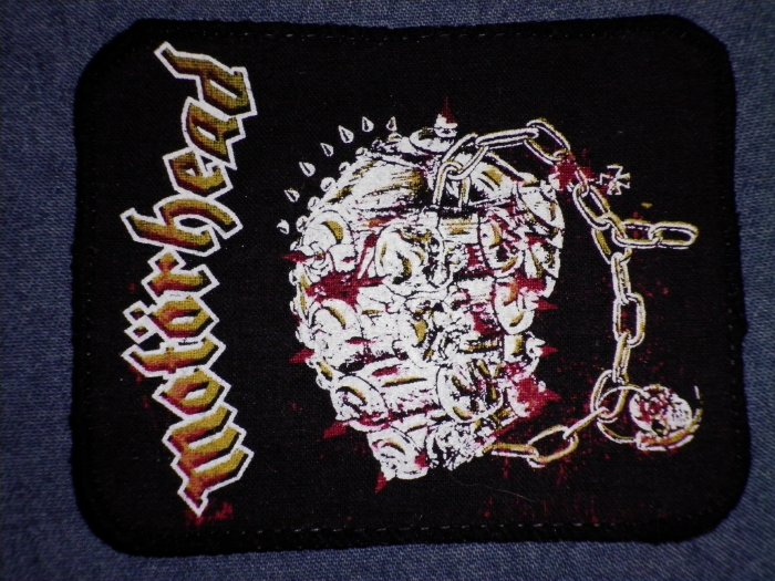 MOTORHEAD sew-on PATCH Iron Fist VINTAGE