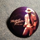 MICHAEL JACKSON PINBACK BUTTON 1958-2009 white hat licensed NEW