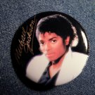 MICHAEL JACKSON PINBACK BUTTON Thriller licensed NEW