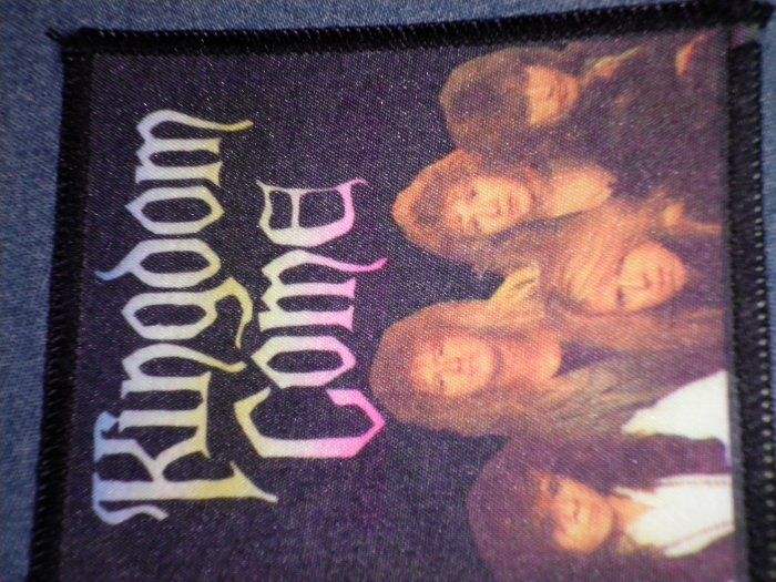 KINGDOM COME sew-on PATCH band photo VINTAGE