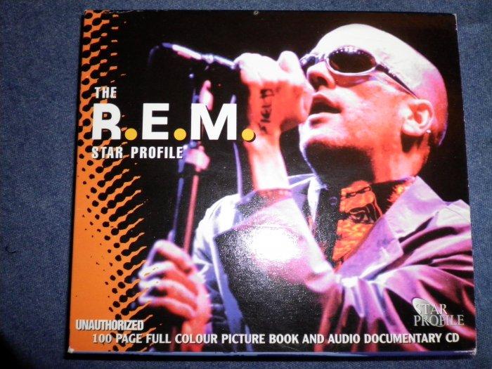 CD R.E.M. star profile documentary book rem