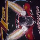 ZZ TOP SHIRT Eliminator Tour 1983 schlitz zztop M VINTAGE 80s
