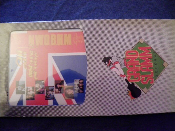 CD ALL STARS NWOBHM iron maiden saxon samson thin lizzy lea hart SEALED LONGBOX