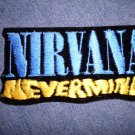 NIRVANA iron-on PATCH Nevermind logo logo VINTAGE 90s