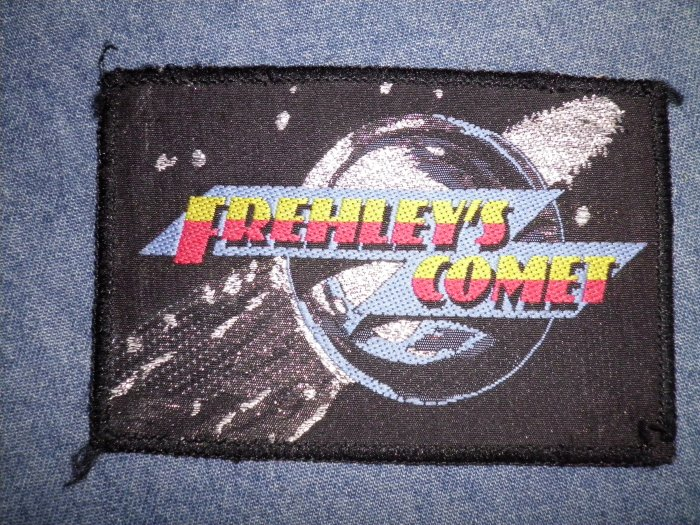 FREHLEY'S COMET sew-on PATCH ace kiss import VINTAGE