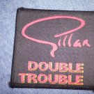 IAN GILLAN sew-on PATCH Double Trouble deep purple VINTAGE