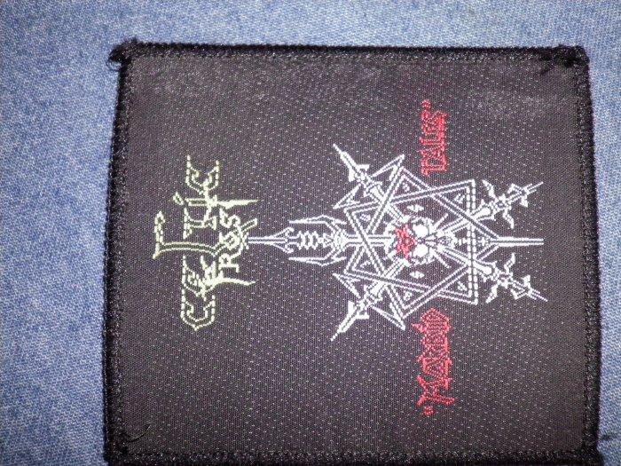 CELTIC FROST sew-on PATCH Morbid Tales logo VINTAGE