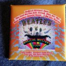 THE BEATLES PINBACK BUTTON Magical Mystery Tour album square NEW