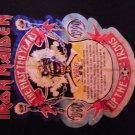 IRON MAIDEN 1990 TOUR SHIRT First 10 Years Decennium L VINTAGE