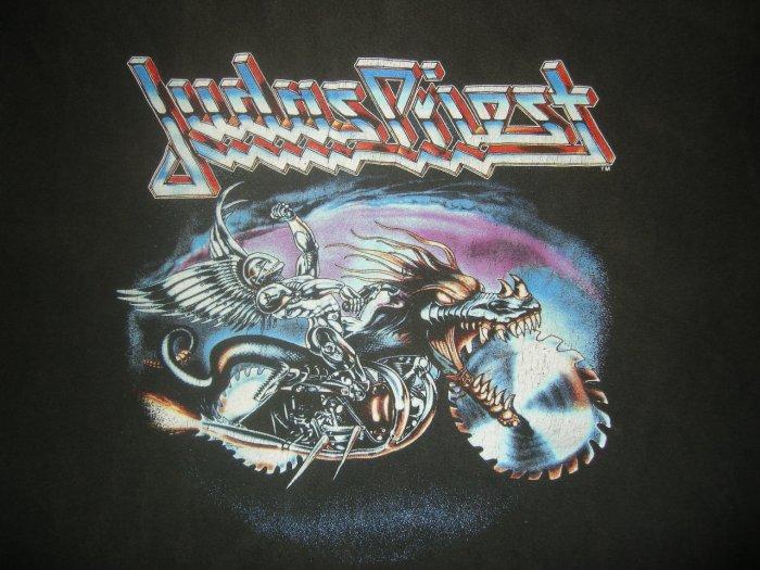 JUDAS PRIEST TOUR SHIRT Painkiller World Tour 1990 XL VINTAGE