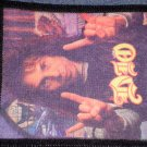 DIO sew-on PATCH Ronnie James photo VINTAGE