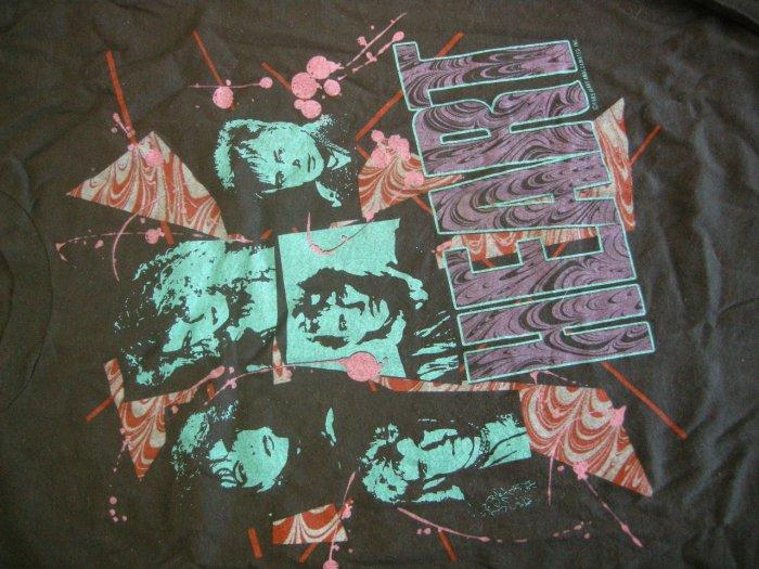 HEART SHIRT 1985 Tour ann nancy wilson XL VINTAGE 80s