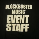 EVENT STAFF SHIRT smashing pumpkins beastie boys shania twain blockbuster tour 1998 XL PROMO