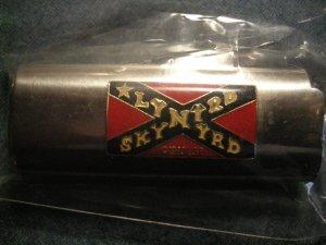 LYNYRD SKYNYRD LIGHTER SLEEVE rebel flag metal bic VINTAGE