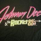 JOHNNY DEE & THE ROCKET 88's SHIRT texas L VINTAGE SALE