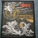 DIO sew-on PATCH Holy Diver ronnie james import VINTAGE