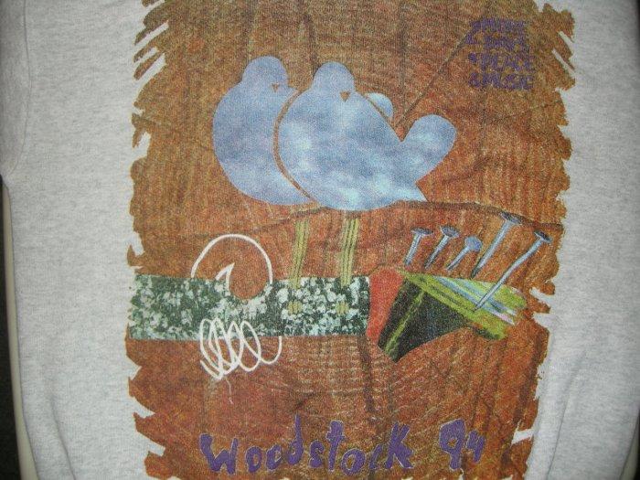 WOODSTOCK 94 SHIRT blind melon johnny cash primus bob dylan aerosmith L LS