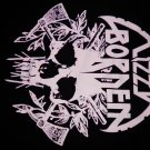 LIZZY BORDEN SHIRT skull axes logo L NEW