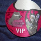 THE ROLLING STONES BACKSTAGE PASS World Tour 94/95 voodoo lounge bsp red VIP