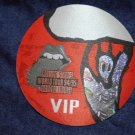 THE ROLLING STONES BACKSTAGE PASS World Tour 94/95 voodoo lounge bsp orange VIP