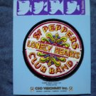 THE BEATLES iron-on PATCH Sgt Peppers Lonely Hearts Club Band NEW