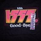 KISS SHIRT Kiss 1999 Good-bye millenium hot topic XL PROMO