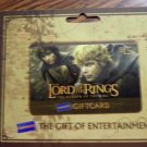 LORD OF THE RINGS GIFT CARD Frodo & Sam return king blockbuster 2004 lotr SALE